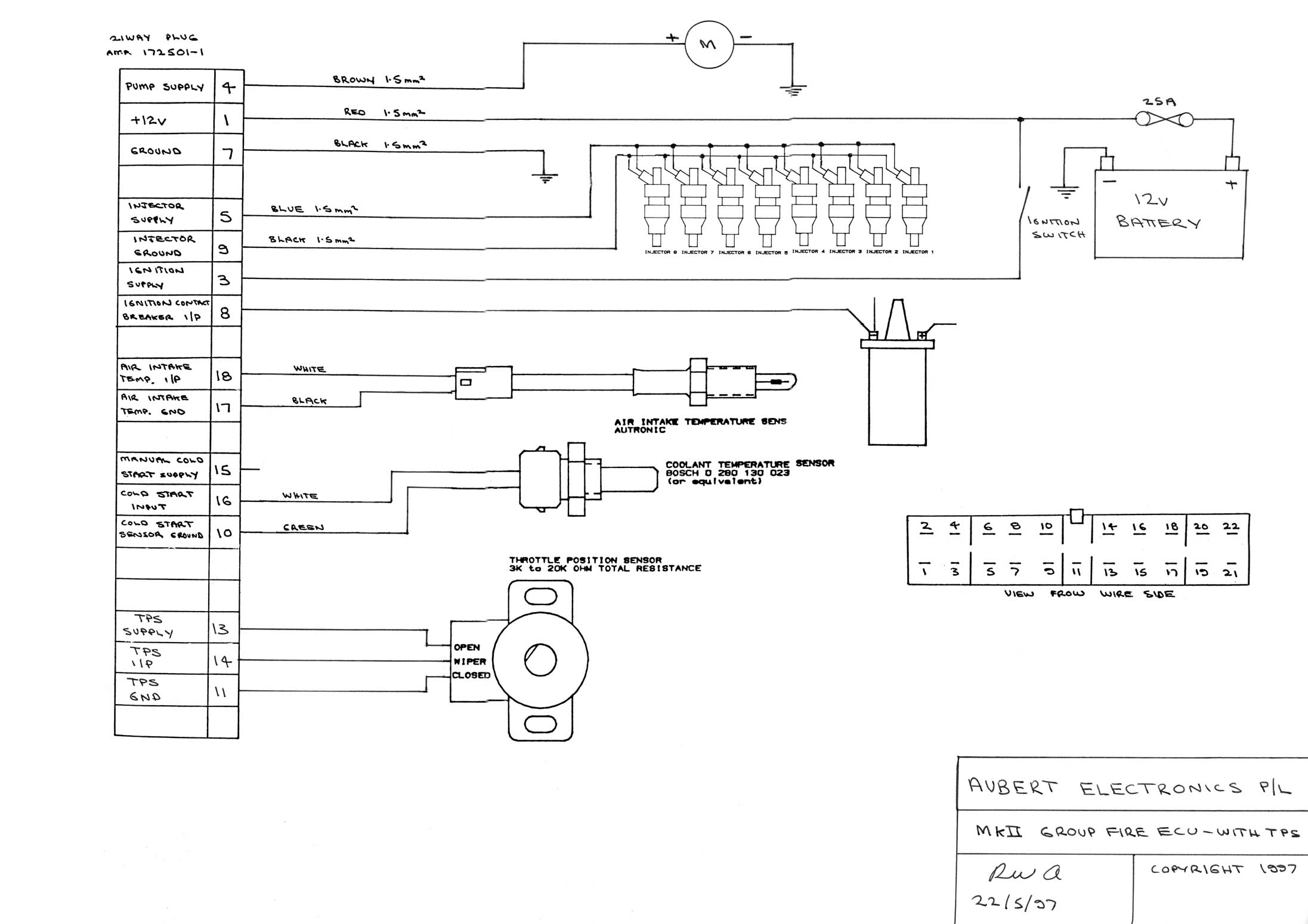 wiring diagram page mkii group fire